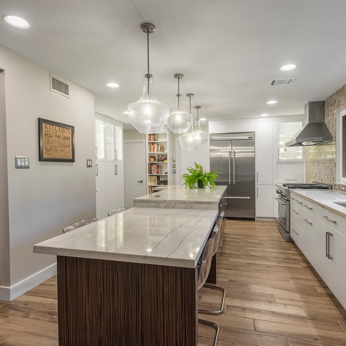 Aging in Place -Transitional Kitchen