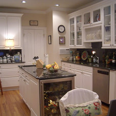 Eclectic Kitchen by AHB General Contractors