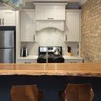 Fairfax Station Kitchen - Base Shelves - Industrial - Kitchen - DC Metro - by Synergy Design ...