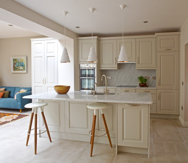 Transitional Kitchen by Optimise Design