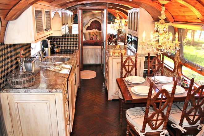 Traditional Kitchen Airstream Makeovers