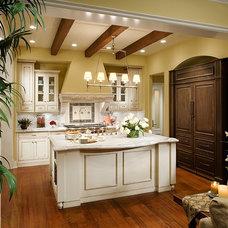 Traditional Kitchen by AJ Design Studio
