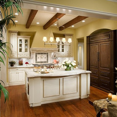 traditional kitchen by AJ Design Studio