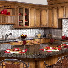 Traditional Kitchen by CheaperFloors