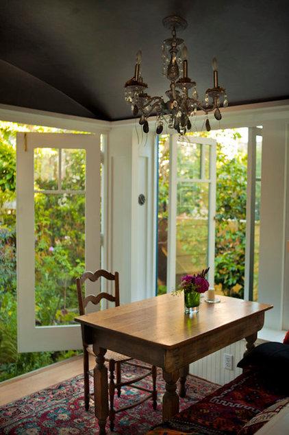 Eclectic Kitchen by Schwentker Watts Design