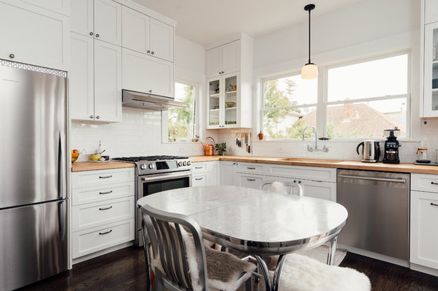 Transitional Kitchen by Ryan Tuttle Photography