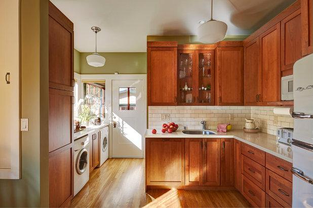 Craftsman Kitchen by Custom Kitchens by John Wilkins, Inc.