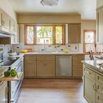 Alameda Spanish Bungalow Kitchen Reface