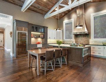 Alamo, CA. Farmhouse. Full Service Design Firm. Kitchen.