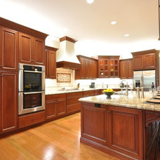 Traditional Kitchen by LB Cabinetry