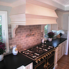 Traditional Kitchen by Precision Woodworks