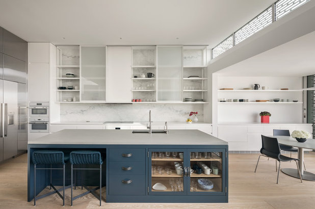 Contemporary Kitchen by Blake Marvin Photography