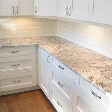 Traditional Kitchen by BG Granite LTD