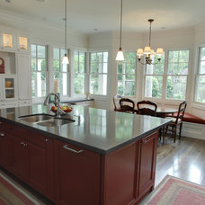 Traditional Kitchen by Atticus Architecture