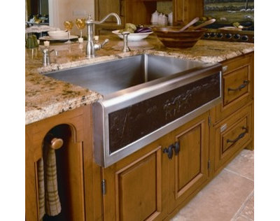 Traditional Kitchen By Superior Woodcraft Inc