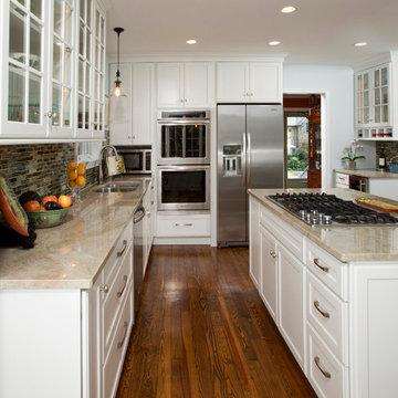 Alexandria Cozy White Kitchen