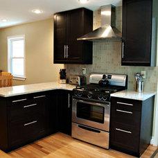Contemporary Kitchen by Arlington Construction Management