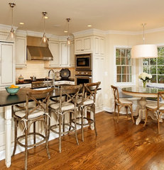 traditional kitchen by Christine Kelly / Crafted Architecture