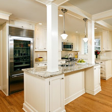 Kitchens with columns