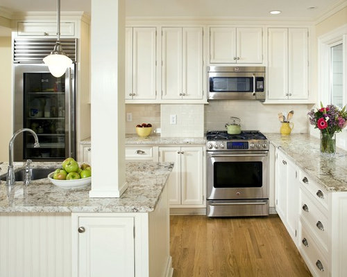 Cotton White Granite | Houzz