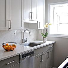 Modern Kitchen by liza ryner design