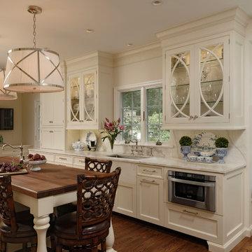 Alexandria, Virginia - Traditional - Classic White Kitchen
