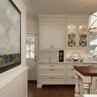 Alexandria, Virginia - Traditional - Classic White Kitchen
