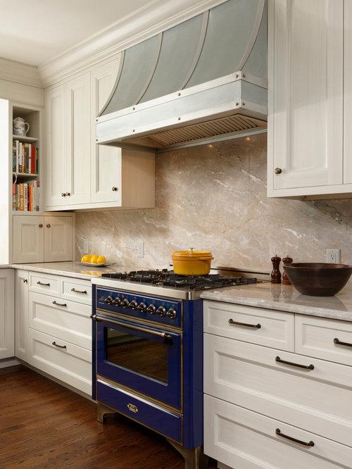 Kitchen design ideas renovations amp photos with stone slab splashback