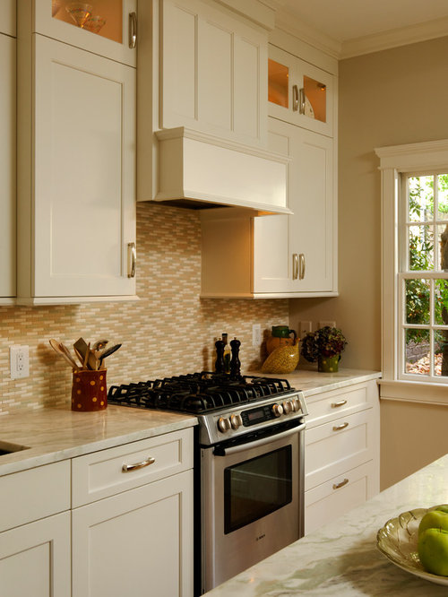 Alexandria Virginia Transitional Rowhouse Kitchen