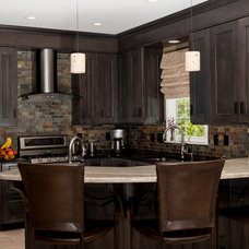 Contemporary Kitchen by Voell Custom Kitchens