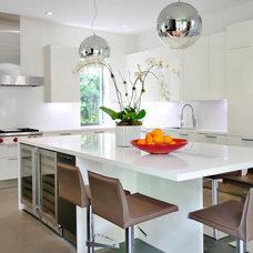 Contemporary Kitchen by CMA Design Studio Inc