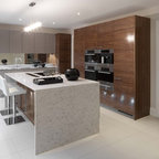 Coach House Contemporary Kitchen London By Coupdeville