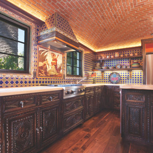 Alhambra panel ~ Kitchen Reface by Carved Custom Cabinets