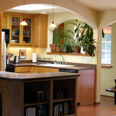 Eclectic Kitchen by McIntyre By Design