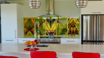 Alison's Kitchen - lime greens, reds and yellows