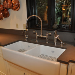eclectic kitchen by Ventana Construction LLC