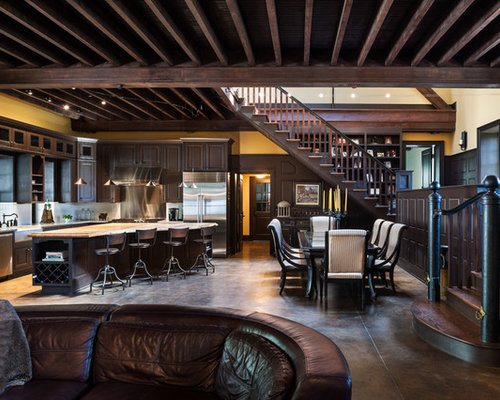 Stained Ceiling Beam Ideas Pictures Remodel And Decor