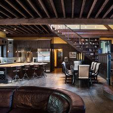 Traditional Kitchen by Archer & Buchanan Architecture, Ltd.