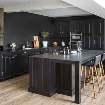 All Black Kitchen
