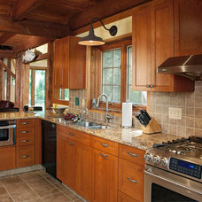 Traditional Kitchen by Kitchen Magic, Inc.