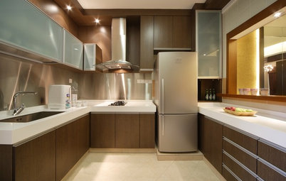 How to Bring a Kitchen Work Triangle Into Different Types of Kitchens