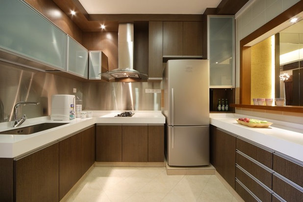 Contemporary Kitchen by Lifestyle Interio
