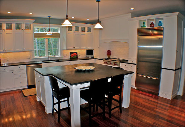 Eclectic Kitchen by Artisan Kitchens Inc.