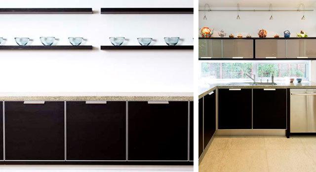Modern Kitchen by Alla Kazovsky Architect
