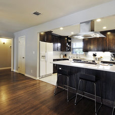 Contemporary Kitchen by GreenTex Builders LLC