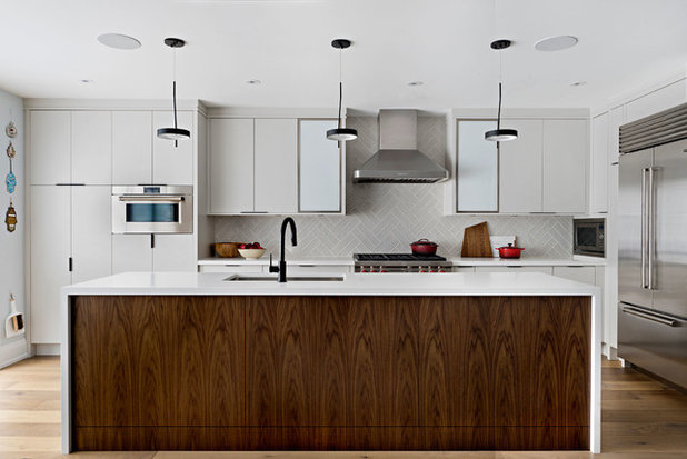 Contemporary Kitchen by Four Blocks South