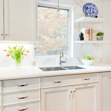 Traditional Kitchen by Meghan Carter Design Inc