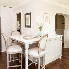 Traditional Dining Room by Meghan Carter Design Inc