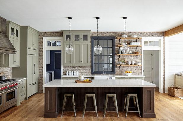 Farmhouse Kitchen by lisa furey interiors