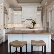 traditional kitchen cabinets by AlliKristé Custom Cabinetry and Kitchen Design